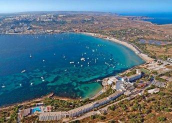 Négycsillagos nyaralás Málta szigetén