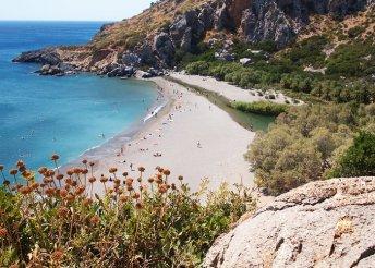 Egy hét fürdőzés és városnézés Krétán