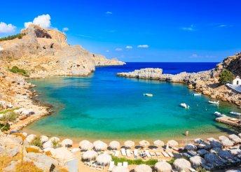 Görögországi lazítás Rodosz szívében