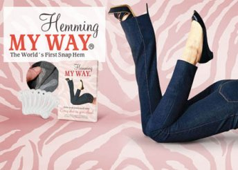 Hemming my way - 16 darabos újrafelhasználható nadrágfelhajtó