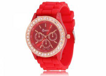 Cheeky HE002 Red Chronostyle női karóra