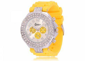 Cheeky HE003 Yellow Chronostyle női karóra