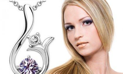 Lilly nyaklánc ausztriai kristállyal 5 színben