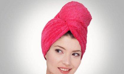 Nem szeretsz hajat szárítani? Válaszd a természetes hatású, mikroszálas hajszárító törölközőt