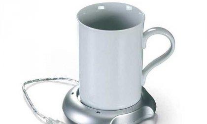 Tea, kávé vagy forralt bor melegítése könnyedén - USB csatlakozós bögremelegítő 5-féle színben