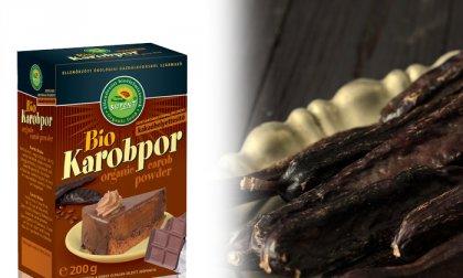 Bio karobpor, finomság a kakaó helyett
