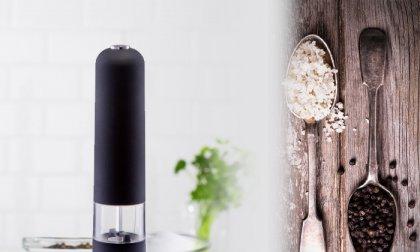 Elektromos só, borsőrlő világítással