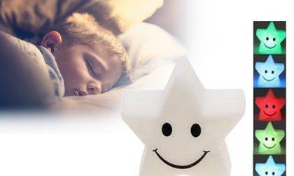 Csillag alakú LED éjszakai lámpa