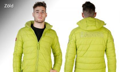 Geographical Norway levehető kapucnis, cipzáras férfi kabát