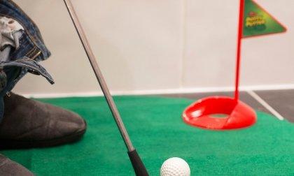 Toalett golf szett