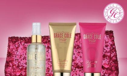 Grace Cole - Sweet Peony and Vanilla fürdő szett