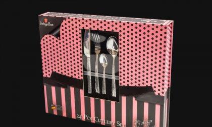 Berlinger Haus rozsdamentes acélból készült 24 részes evőeszközkészlet
