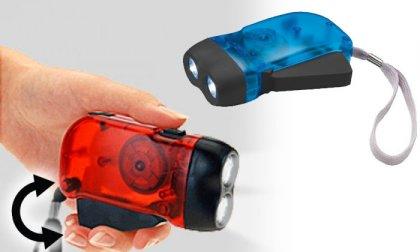 2 LED-es dinamó lámpa
