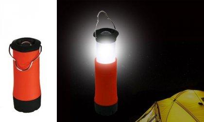 LED kempinglámpa