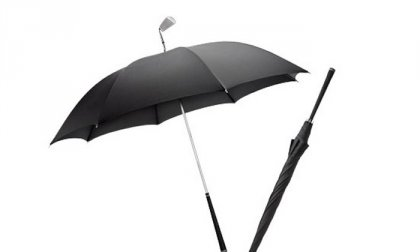 Golf ütő nyelű esernyő