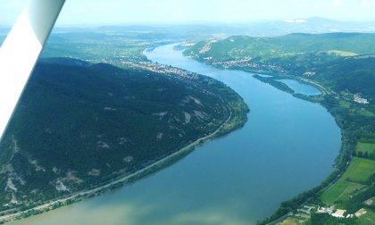 A Dunakanyar végigrepülése Girokopterrel