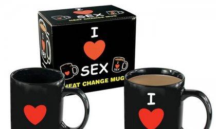 I Love Sex hőre változó bögre
