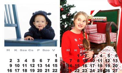 2021-es családi naptárfotózás 12 átöltözési lehetőséggel, stúdióban vagy szabadban