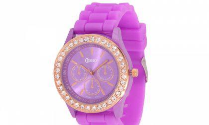 Cheeky HE002 Violett Chronostyle női karóra