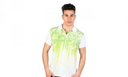 Just Cavalli póló 15GRMCI47_LIME-381C