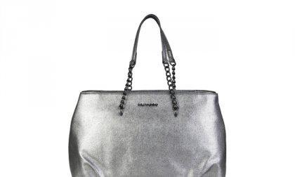 Blu Byblos bevásárló táskák PENC-WSAF_675P80_036_ARGENTO