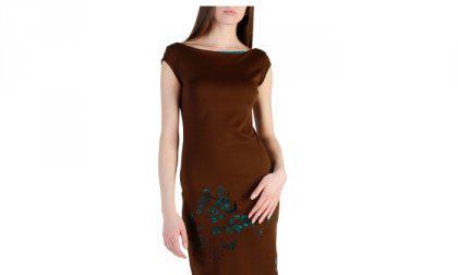Desigual Dresses 47V2082_6009_MARRONE