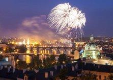 Szilveszteri városnézés Prágában